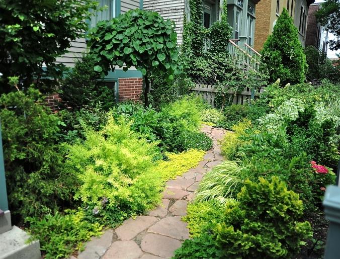 Watering system helps lush garden by Marguerite Gardens